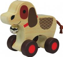 NIC102 Nicko Baby Bell Jingle Rouleau Chien 18 m +